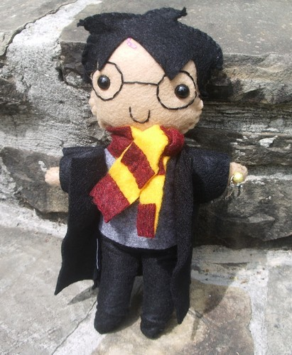 Harry Potter Plushie by kiddo47 on deviantART