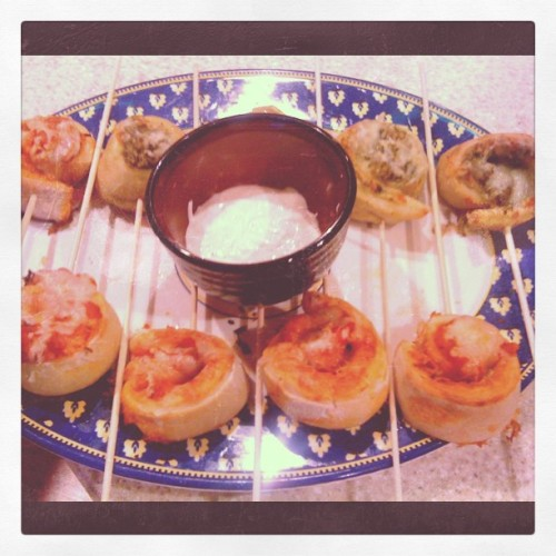 3. Skewered! And a bowl of ranch (Taken with Instagram at Nora's casa, Bethesda, MD) Recipe from Baked Bree