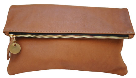 This cognac foldover clutch from Claire Vivier would be a very versatile purse to own. It's available in a slew of colours, but this is my favourite.