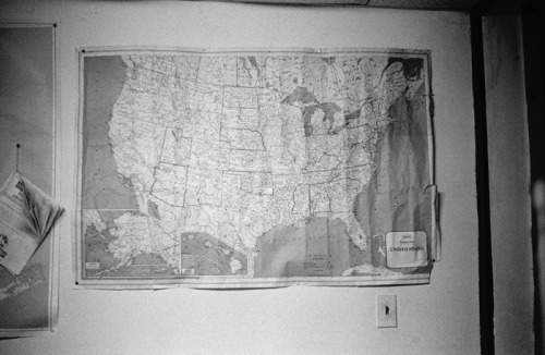 wallpunch:  Map of of United States, somewhere upstate New York