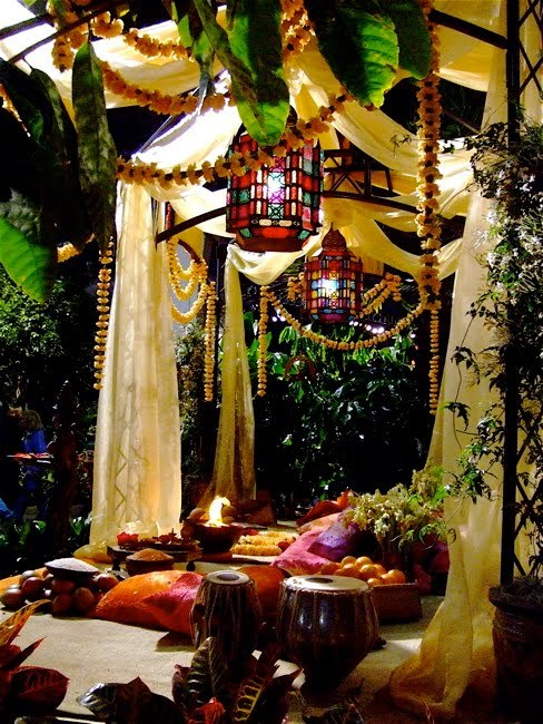 My Bohemian Home ~ Outdoor Spaces Backyard bohemian paradise