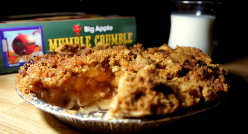 Midnight snack anyone? An apple pie from The Big Apple in Colborne, Ontario.