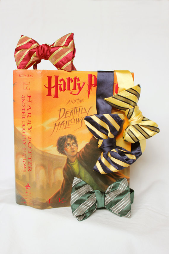 Harry Potter inspired bowties by byenpointe on etsy