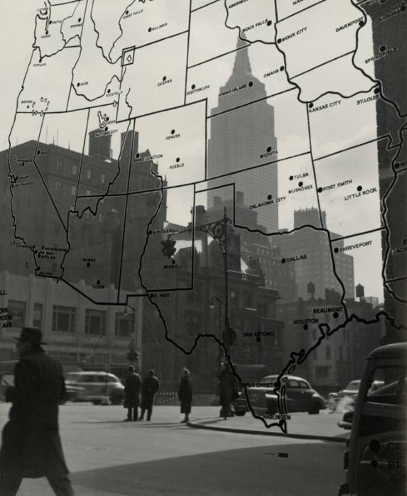 luzfosca:  Gita Lenz Empire State Building, late 1940s Thanks to firsttimeuser