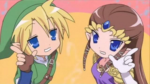 pokemasterhillary:  Just like Lucky Star~