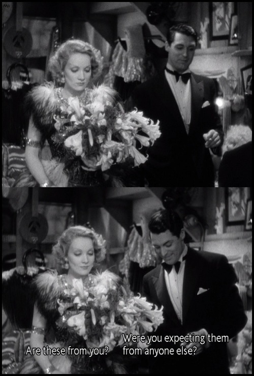 the-asphalt-jungle:  Marlene Dietrich and Cary Grant Blonde Venus (1932)