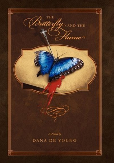 The Butterfly and the Flame (2011) by Dana De Young, is set in the year 2404 in a theocracy known as the Dominion of Divinity. Sexually oppressive, the government has made homosexuality punishable by death. Young Emily has been hiding the fact that she is male bodied he whole life, but when she is arranged to marry her landlords son, she knows her secret will be revealed if she does not escape.