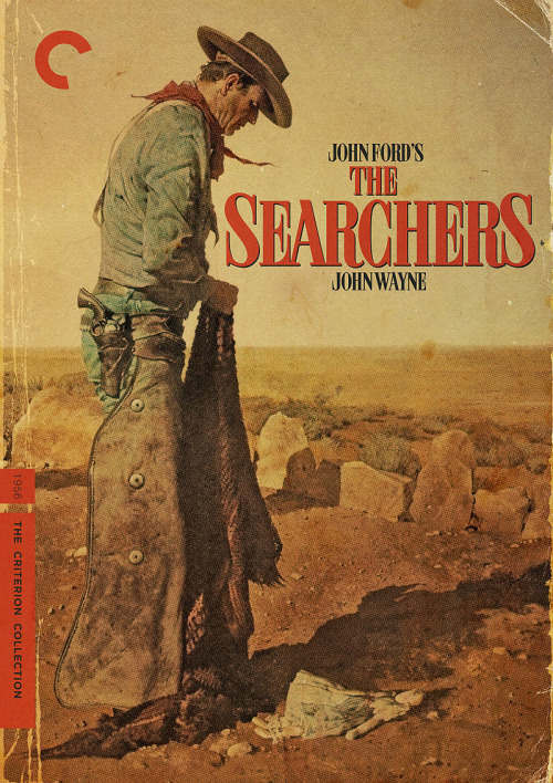 "Criterion Cover for John Ford's ""The Searchers"""