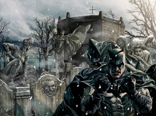 Lee Bermejo's final cover for his upcoming Batman: Noel