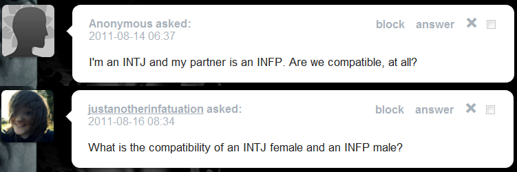 Infp intj dating compatibility