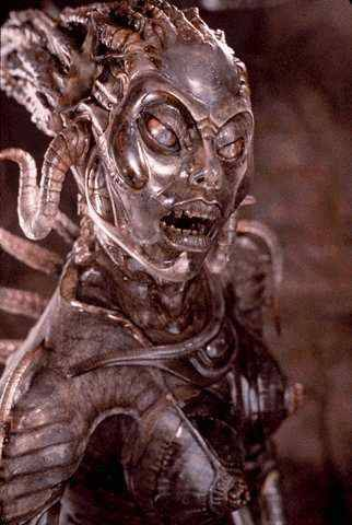 Sil from Species, another creation if H.R. Giger via twistedsolutions