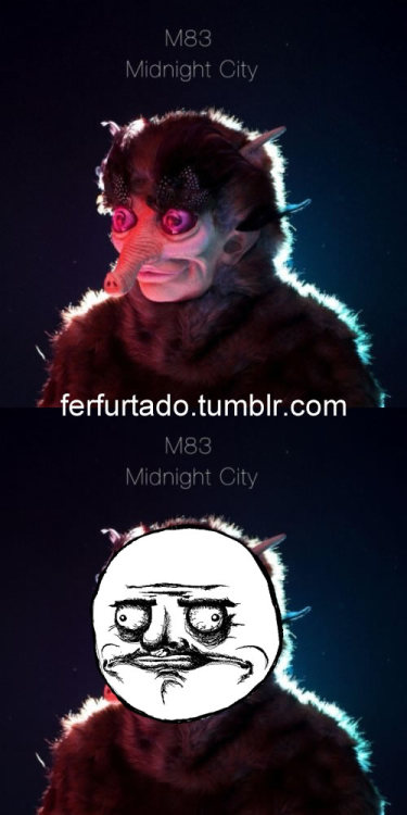 i found this cover a while ago xD by M83 Midnight City Single Cover