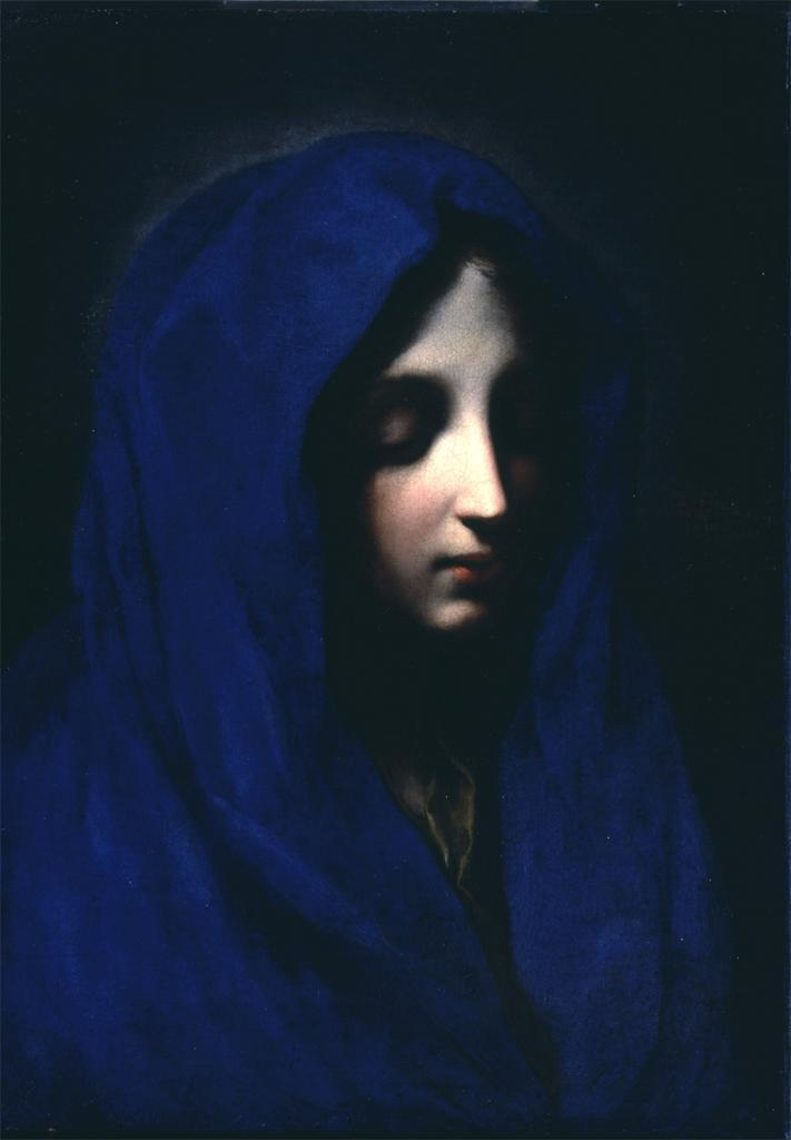 Carlo Dolci, The Blue Madonna, 17th century