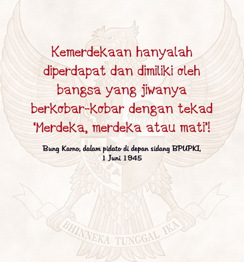 beingindonesian:  Happy 66th Independence Day, my Indonesia.