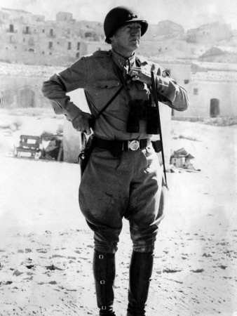 General George S. Patton landing on the beaches of Sicily. In July of 1943 a large scale Allied invasion of Sicily took place with the help of General Patton.  Codenamed Operation Husky, after six weeks of fighting the Allied were able to push Axis troops back.   The foothold in Sicily led to an even greater invasion of Italy and eventual liberation from Fascist power. The mission ended in success on August 17, 1943 - 68 years ago today.