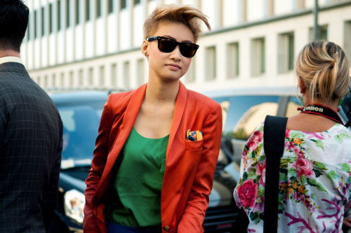 anthonybila:  Esther Quek street style