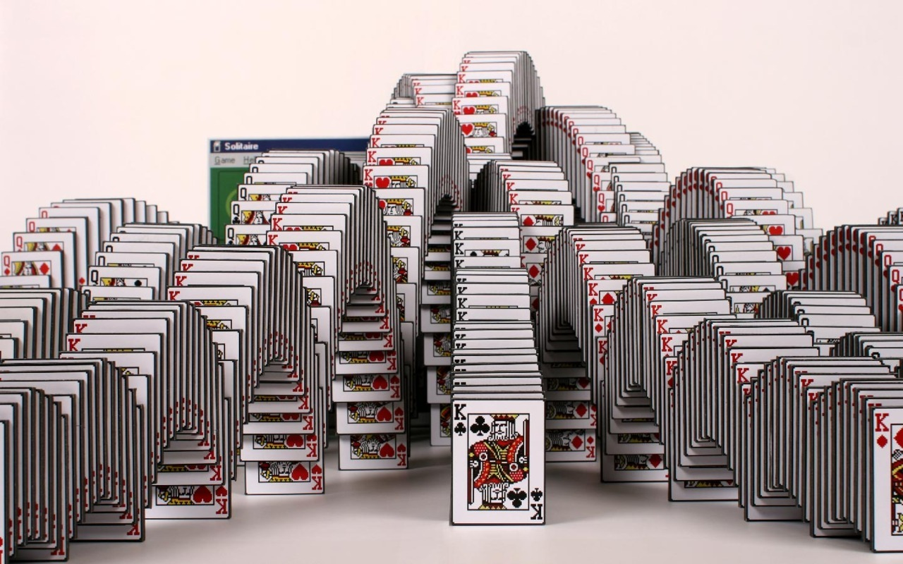ladies and gentlemen, the solitaire win sculpture. awesome! http://www.skrekkogle.com/#solitaire