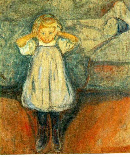 Edvard Munch - Dead Mother
