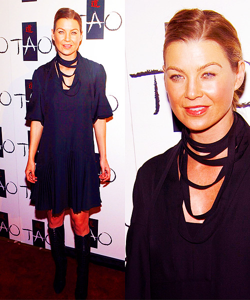 60 days of Ellen Pompeo (candids/appearances) (★) 46# at Nightclub TAO in Las Vegas - November 8, 2008
