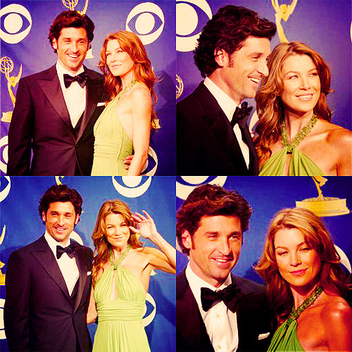 60 days of Ellen Pompeo (candids/appearances) (★) 47# The 57th Annual Emmy Awards with Patrick Dempsey - September 18, 2005