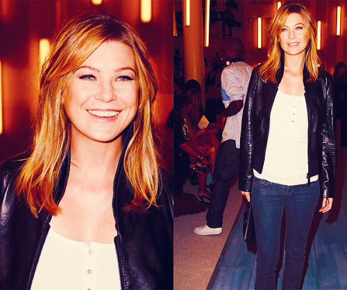 60 days of Ellen Pompeo (candids/appearances) (★) 49# at the 3 Spring 2009 Fashion Show - September 7, 2008