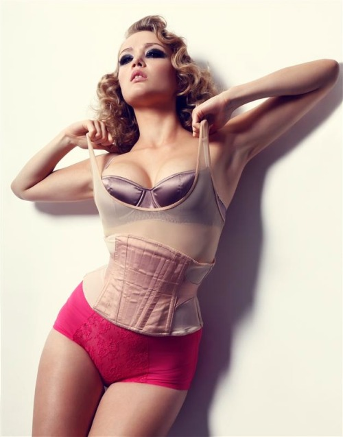 Bra MC Lounge::Mesh body American Apparel::Waspie Sian Hoffman::Knickers American Apparel Check here: futurefrock