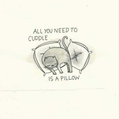 allhugsnoworries:  Hugging pillows for life.
