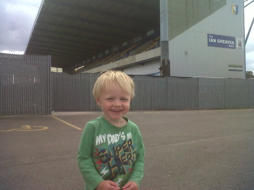 Jakey at stags ground!