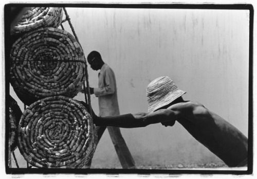 Lou Jones, Labor, Port Au Prince, Haiti, 1977. This photograph will be on display in the Panopticon Gallery 40th Anniversary exhibition from Sept. 8 - Oct. 31, 2011.