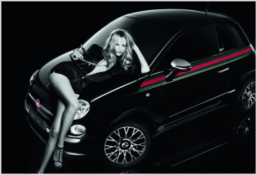 The new Fiat 500 by Gucci …Finally an Italian Stallion the ladies can ride!