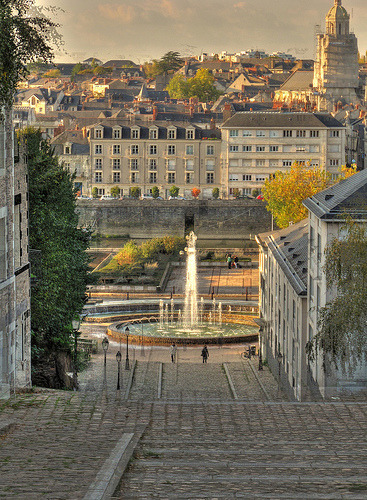 ysvoice: Angers, Loire valley, France by John Glass | via allthingseurope