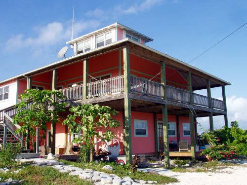 The GONE SURF INN…..a funky Rum Cay vacation rental catering to all those who drink Rum.  Long term, short term, any term.