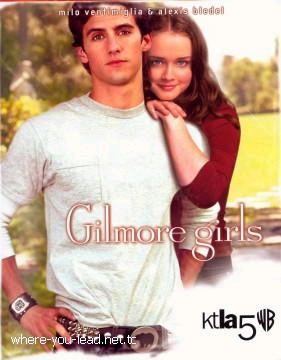Gilmore Girls promo… To be honest, I never liked these. They always looked terribly photoshopped.  /cool story bro
