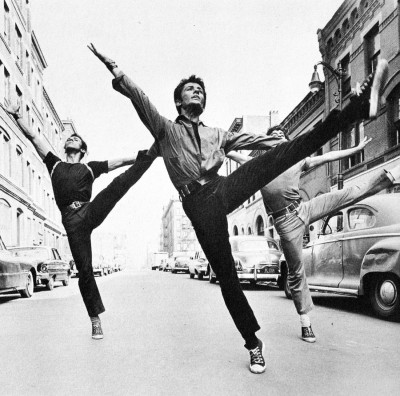 crazy70s:  George Chakiris in West Side Story, 1961