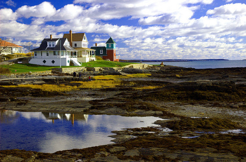 travelthisworld:  Orr's Island, Maine, USA