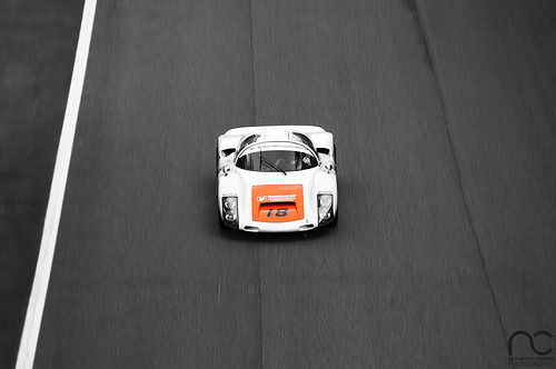 Porsche 906 captured in a stunning photo (by RC Squadra Corse)