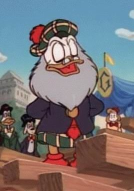 Flintheart Glomgold, you hipster. Or are you a Fan? You look like every one of my Dad's hippie sci-fi friends from the 70s, plus a kilt.