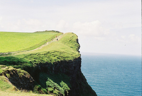 Cliffs of Moher pt. 2 by Mat W. on Flickr.