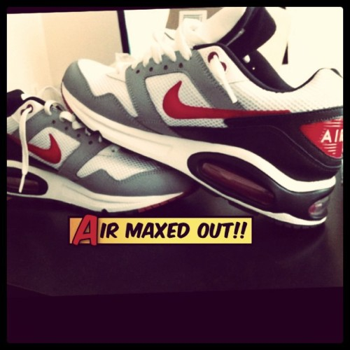 d0nc:  #Nike #airmax #fly #fresh #sneaker (Taken with instagram)