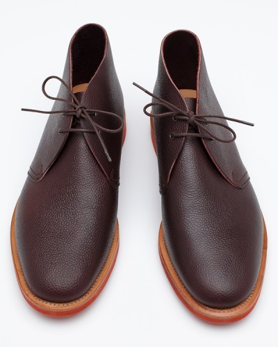 It's on sale: Mark McNairy pebble-grain chukka boot, $149.40 — Available at Need Supply, where all final sale items are an extra 40% off with coupon code EXTRA40. Just be aware though that most people size down an extra half size on McNairy shoes.