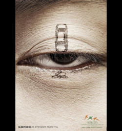 ThaiHealth Promotion Foundation: BikeThis ad promotes the awareness that one should not drive in a sleepy state.