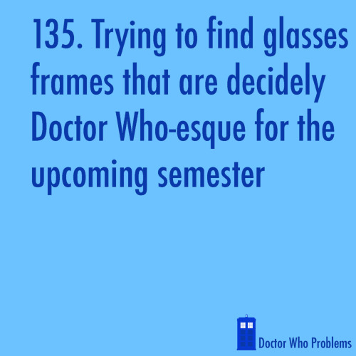 doctorwhoproblems:  (suggested by wwft)