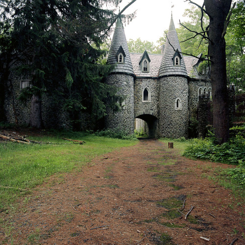 Abandoned Castle, New York. www.lindsayblairbrown.com  Click here for more info