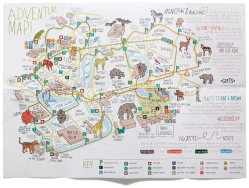 Adam Hayes, @mrahayes, created this map for Chester Zoo with Music. Read the full review here.