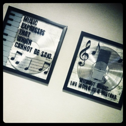 Music is Life. (Taken with instagram)
