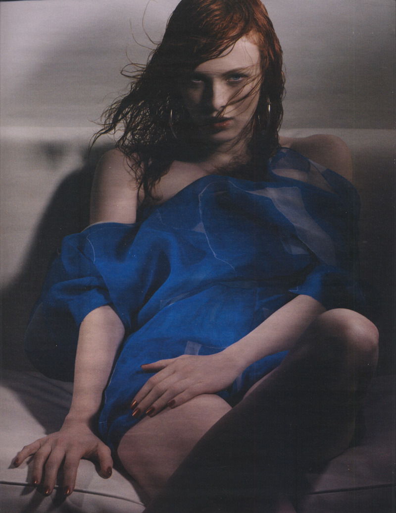 Karen Elson - W Magazine March 2007 by Craig McDean