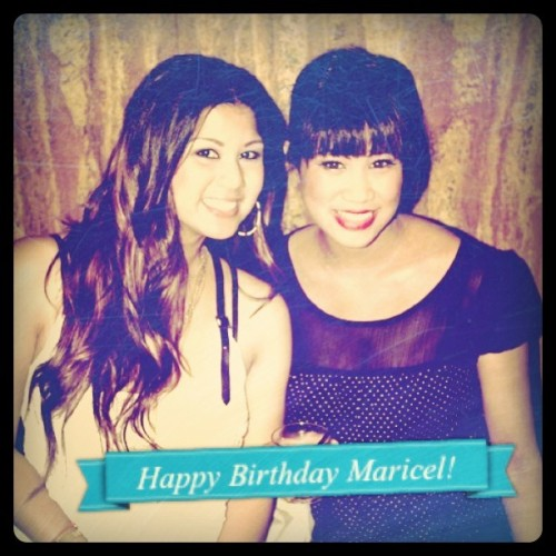 Happy Birthday Maricel!!!