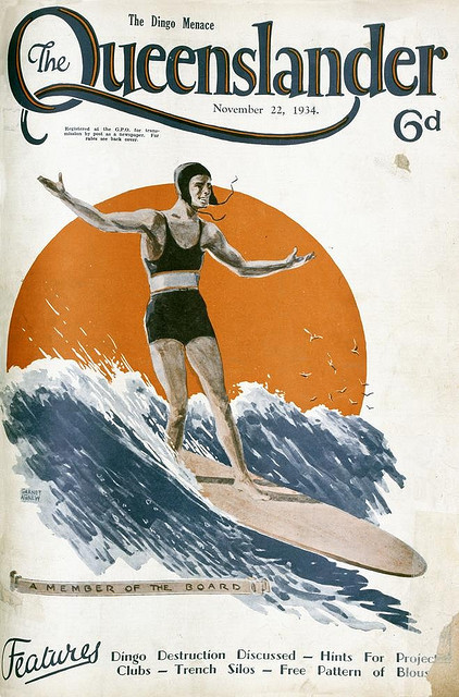 sea-farer:  Illustrated front cover from The Queenslander, 22 November 1934 by State Library of Queensland, Australia on Flickr.