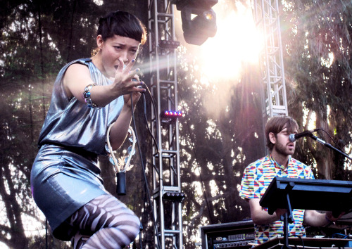 nikoriana:  Little Dragon | Outside Lands 2011 | I loved Yukimi's performance. So much fun.  oof