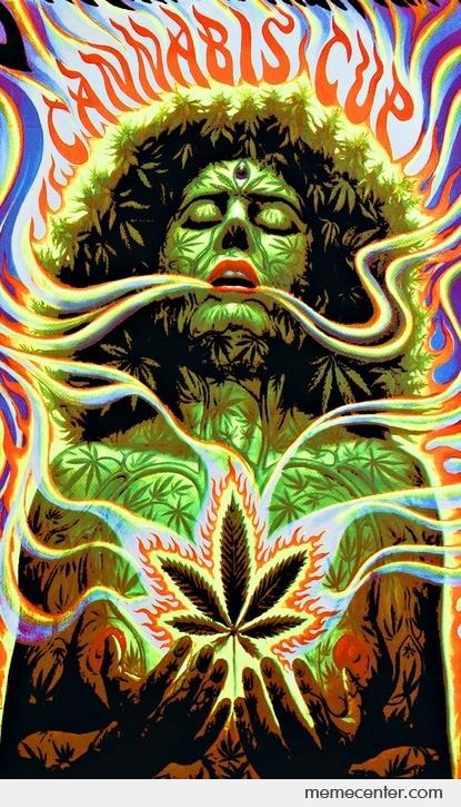 Cannabis goddess…